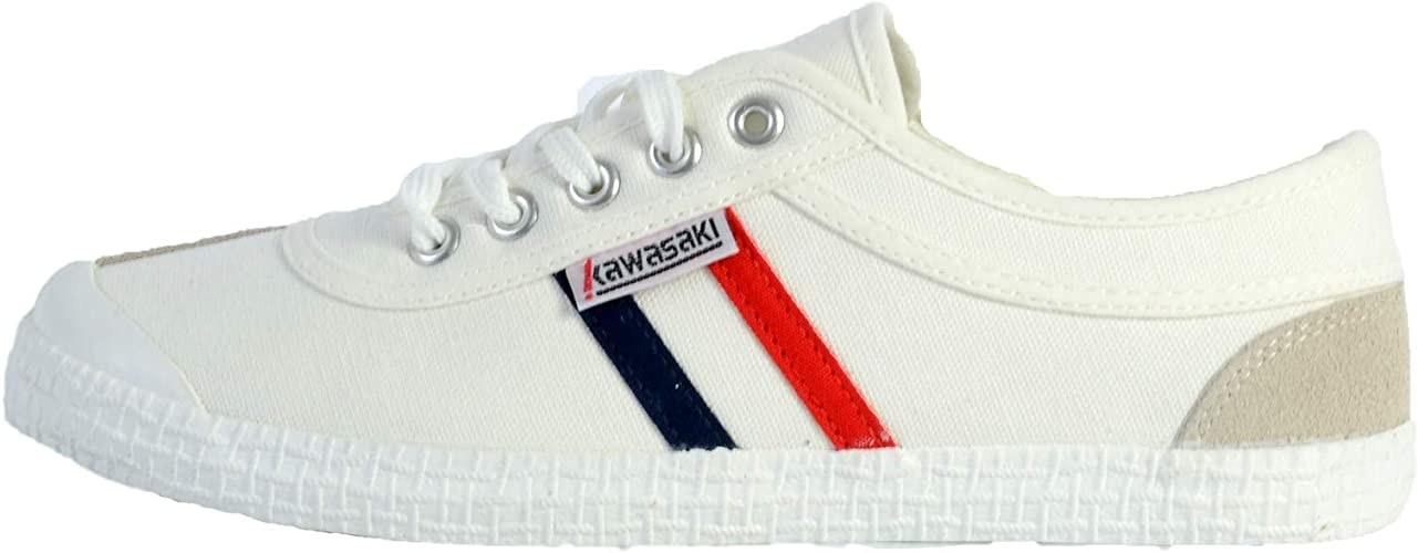 Kawasaki Retro Trainers Men White Low