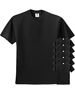 f2f825eb Jerzees Men's Adult Short-Sleeve T-Shirt 3 Pack   Amazon.com