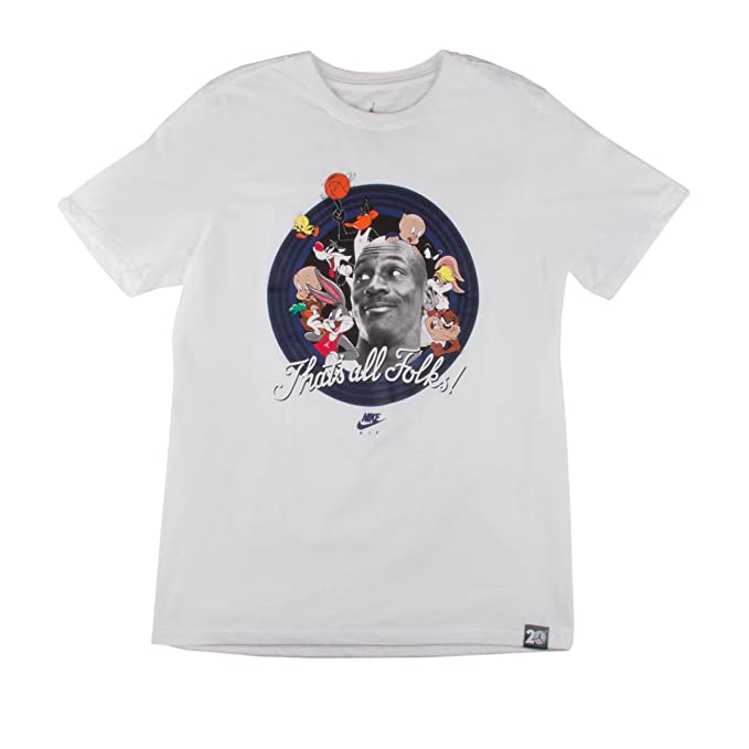 Jordan AJ 11 THAT'S ALL FOLKS TEE mens workout-and-training-shirts 824358
