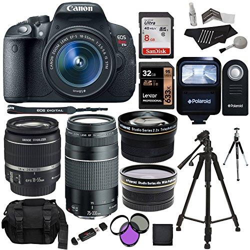 Canon EOS Rebel T5i 18.0 MP Digital SLR Camera 18-55mm STM L