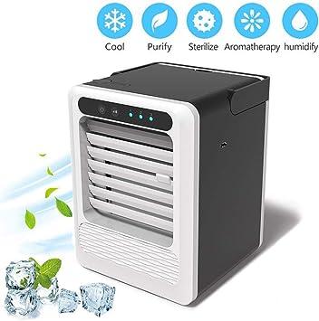 ACZZ Refrigerador Mini Aire Acondicionado, 3 Velocidades Fuente de ...