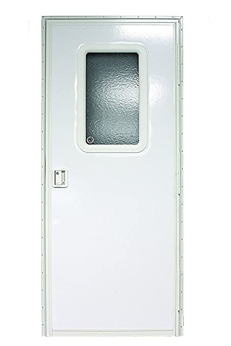 Beau Lippert Components V000149585 Polar White 30u0026quot; X 72u0026quot; RV Right  Square Entry Door