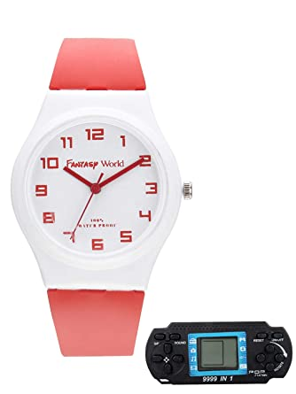 Buy Fantasy World Kids Watch One Free Brick Game Online At Low Prices In India Amazon In