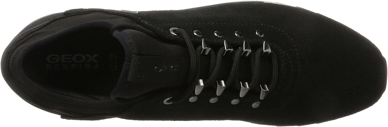 Geox D Aneko B ABX A sneakers voor dames Zwart