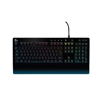 【PUBG JAPAN SERIES 2018推奨ギア】ゲーミングキーボード ロジクール G213 RGB パームレスト 耐水性