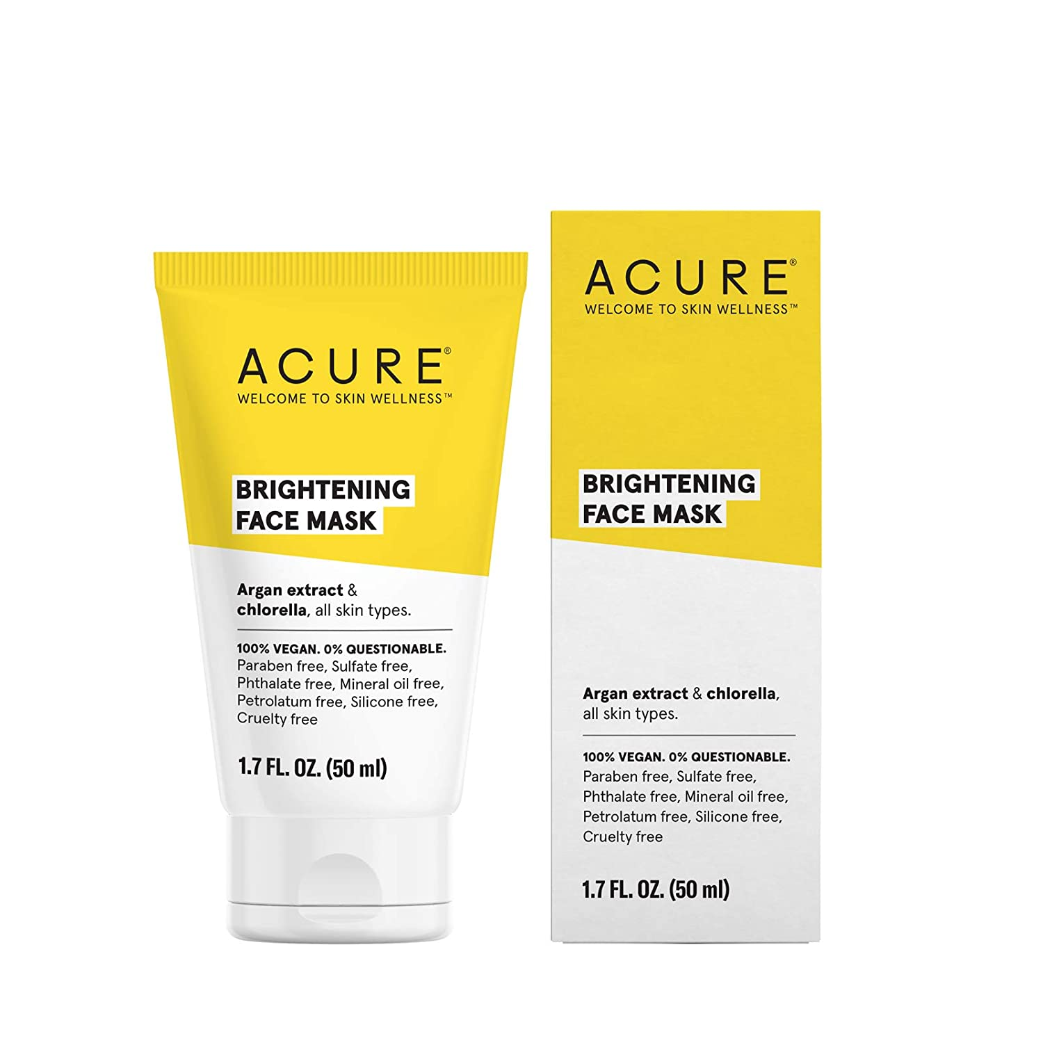 ACURE Brilliantly Brightening Face Mask, 1.75oz ET1032