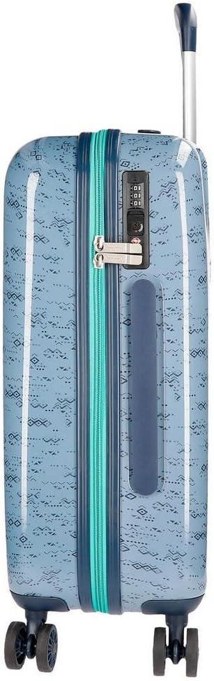 Pierce Hand Luggage 38 liters Blue Azul 55 cm