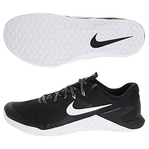 e0c4cddd58703f Nike Men s Metcon 4 Training Shoe Black White Size 14 M US  Buy ...