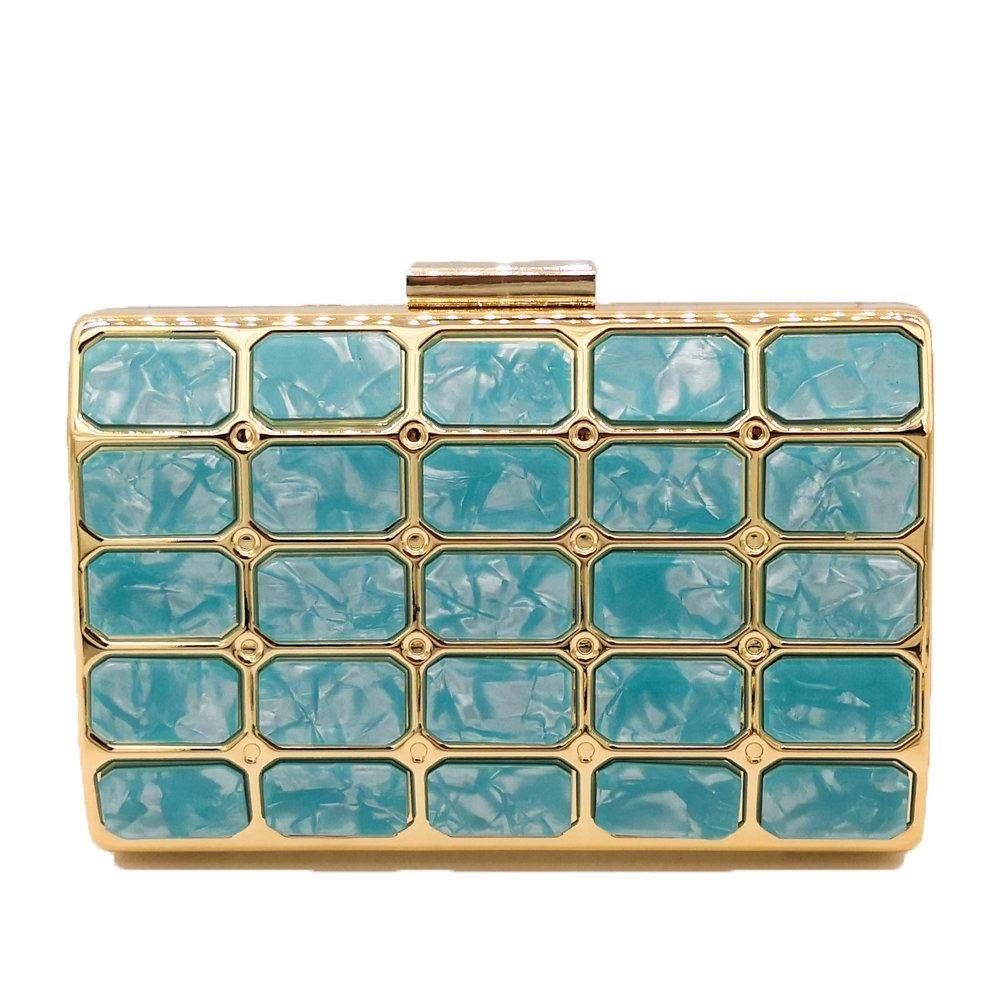 904365bddb1b9 Yammucha Yammucha Yammucha Acryl Handtaschen Abendtasche Clutch Bag  Kettenbeutel (Farbe B07Q8JKF61 Clutches Überlegene Materialauswahl 042cd6