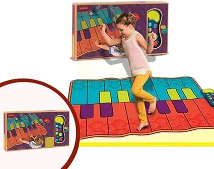 GH-YS Alfombrilla de Piano Musical, Teclas, Teclado de Piano ...