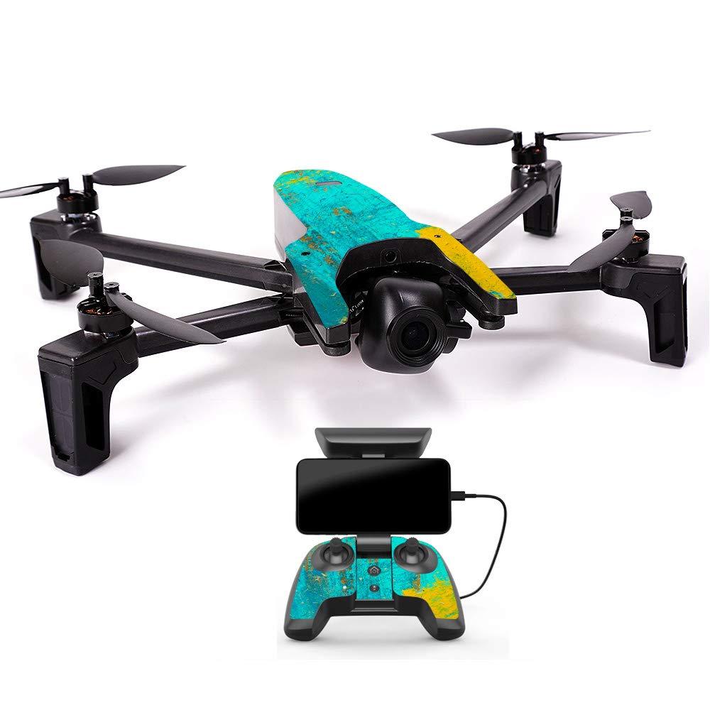 人気沸騰ブラドン MightySkins スキンデカール ラップ PAANAMIN-Acrylic Parrot Anafi B07H7T26ZN Drone用 ステッカー Drone 抽象画 ブラック, Minimal Drone & Controller Coverage, PAANAMIN-Acrylic Blue B07H7T26ZN Acrylic Blue Minimal Drone & Controller Coverage, ニイカップグン:3e69e3da --- rsctarapur.com