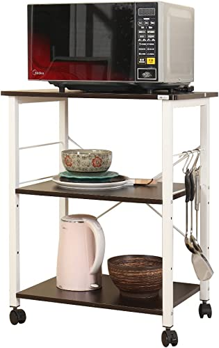 DlandHome Microwave Cart Stand 23.6 inches