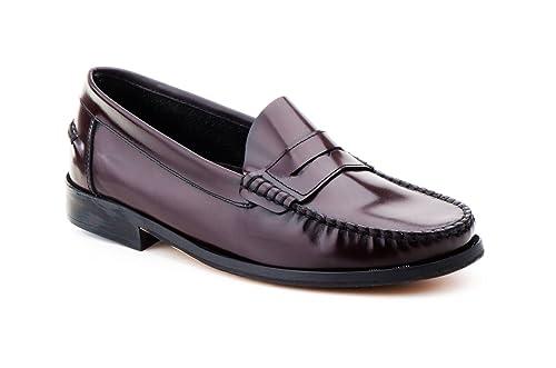 Mocasines Castellanos de Piel Florentic para Hombre, Urban Jungles mod. 7000, Calzado Made in Spain Garantía de Calidad. (47, Burdeos): Amazon.es: Zapatos y ...