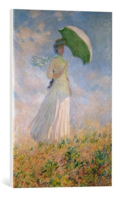 Amazon Com Kunst Fur Alle Canvas Print Claude Monet Frau Mit