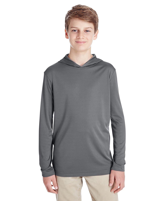 6479b9d2 Amazon.com: Team 365 Youth Zone Performance Hoodie (TT41Y): Clothing