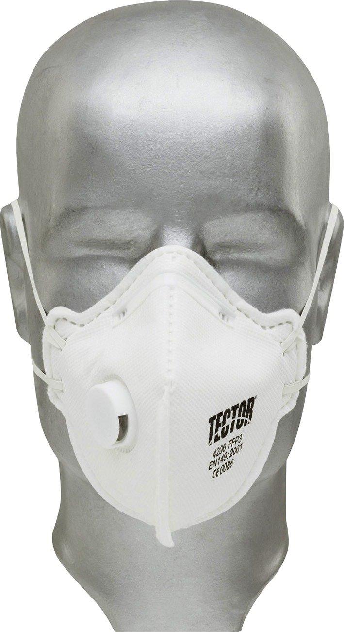 Tector Standard Atemschutzmaske FFP3 mit Ventil Feldtmann 4206