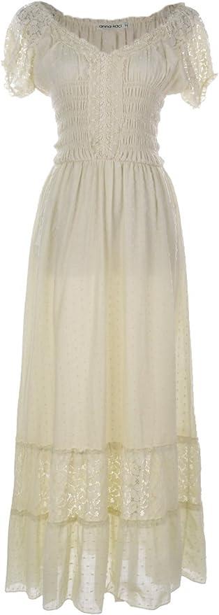 Renaissance Peasant Trim Dress