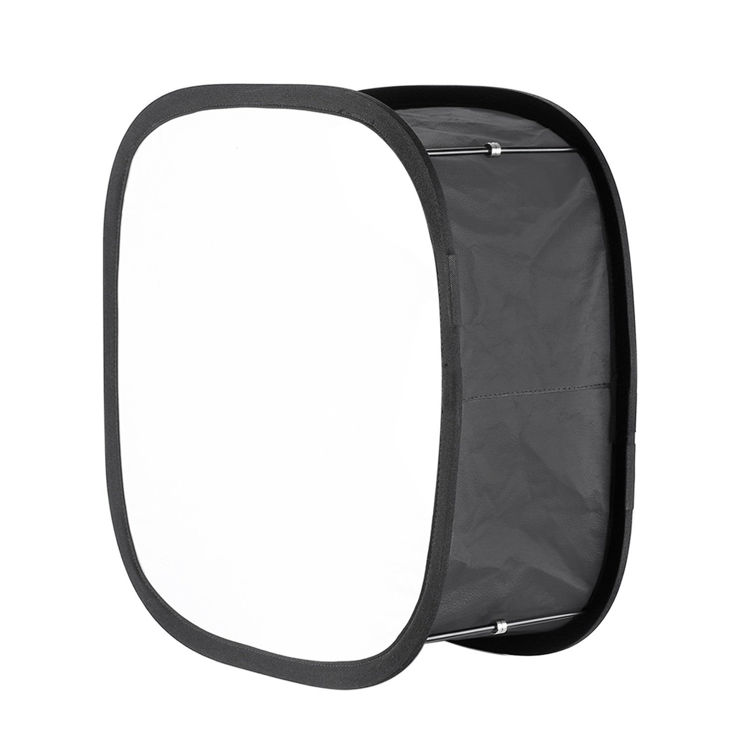 Neewer Collapsible Softbox Diffuser for 480 LED Panel - Outer 16x6.7 inches, Inner 5.6x5.6 inches, with Strap Attachment and Carrying Bag for Photo Studio Portrait Video Shooting