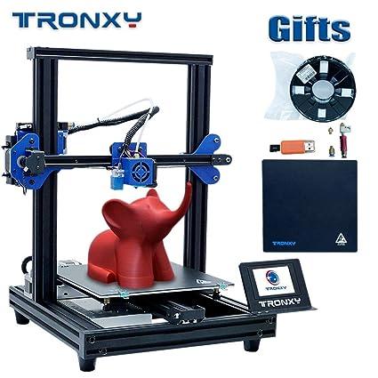 Aibecy Kit de impresora 3D TRONXY XY-2 Pro Montaje rápido 255 * 255 * 260 mm Soporte de volumen de compilación Nivelación automática Reanudar ...