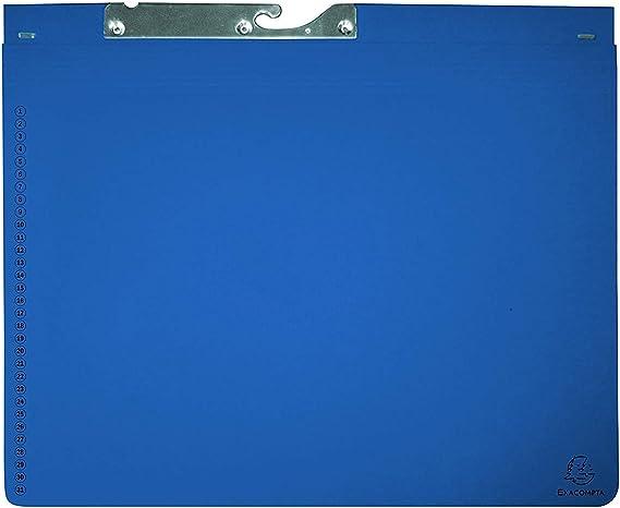 Exacompta 353207B Exaflex - Pack de 25 carpetas archivadoras ...