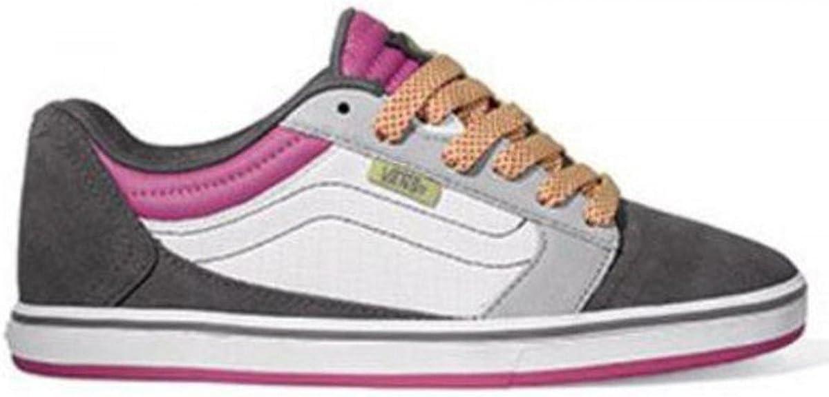 Vans Skateboard Schuhe Amberton Lo Grey Pink Sneaker