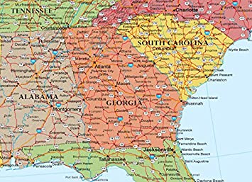 Us Map Mural.24x36 United States Usa Classic Elite Wall Map Mural Poster