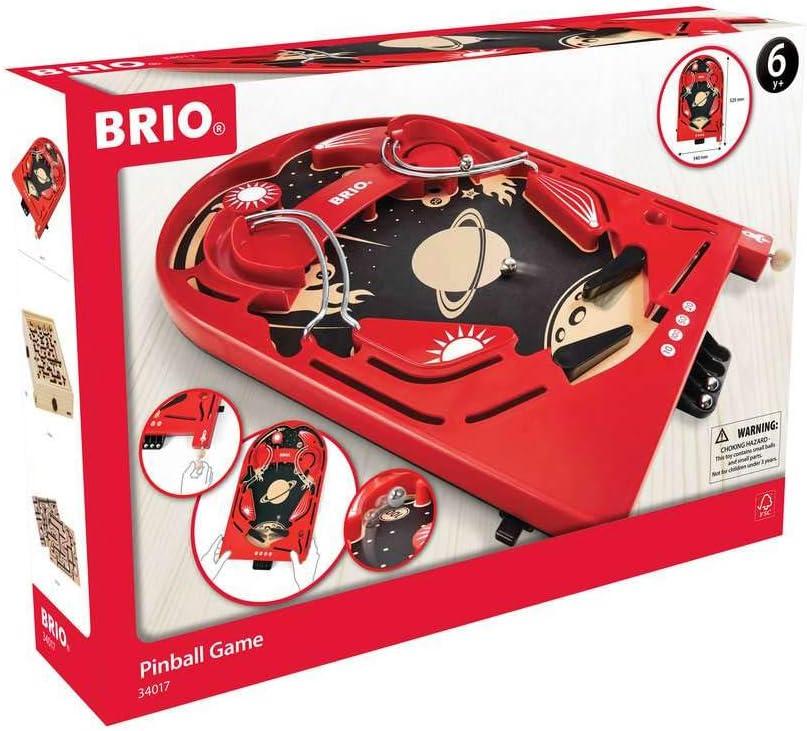 BRIO Juegos 34017 - Lipper de Madera Space Safari, Juguete de Madera para niños, Recomendado a Partir de 6 años