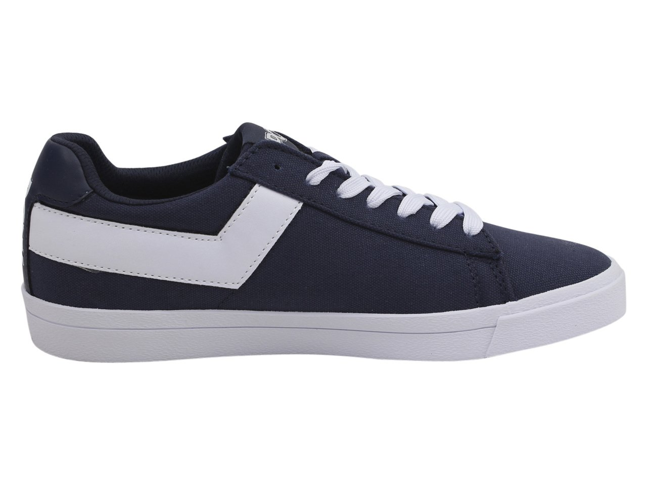 Pony Women's Top-Star-Lo-Core-Canvas Sneakers Shoes B07BCP1D2W 7.5 B(M) US|Navy/White
