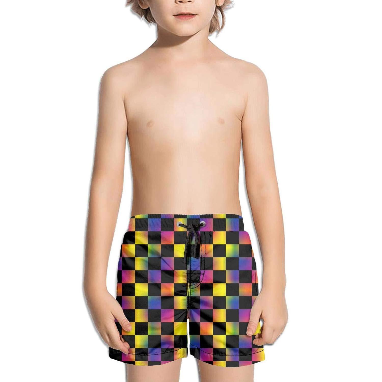 uejnnbc Green Skull Camouflage Brief Adjustable Stretch Board Swimming Trunks Shorts