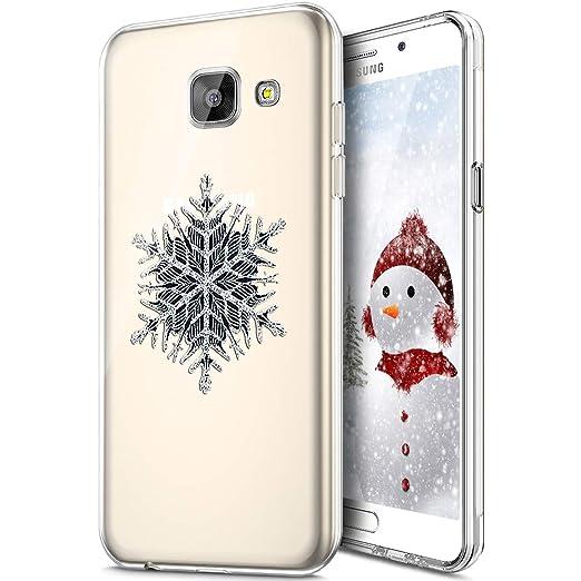 Carcasa Galaxy A3 2016, Navidad carcasa de silicona Tpu ...