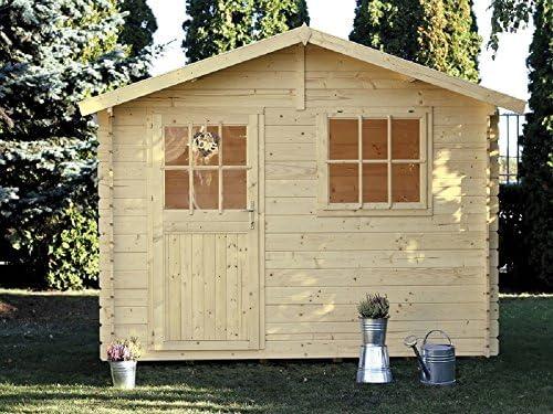 Casa Jardín Paola madera nordico gartenpro 318 x 218 x 244/195H ...