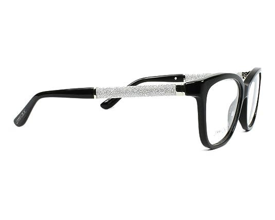 9280396db6b Amazon.com  JIMMY CHOO Eyeglasses 105 0Fa3 Black 55MM  Shoes