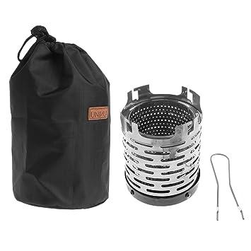 amrka Mini calefactor al aire libre Camping equipo calentador calefacción estufa tienda calefacción Cubierta: Amazon.es: Hogar
