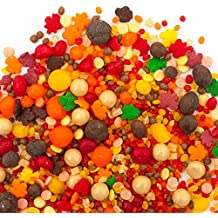 Candy Sprinkles | Harvest Candyfetti | SAVE 50% OFF REGULAR PRICE ($14.95) | Red Orange Yellow and Brown | Perfect for Thanksgiving!