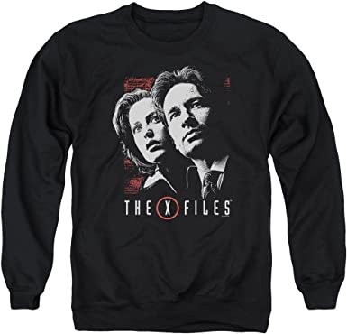 Spotlight Logo Adult Crewneck Sweatshirt X Files