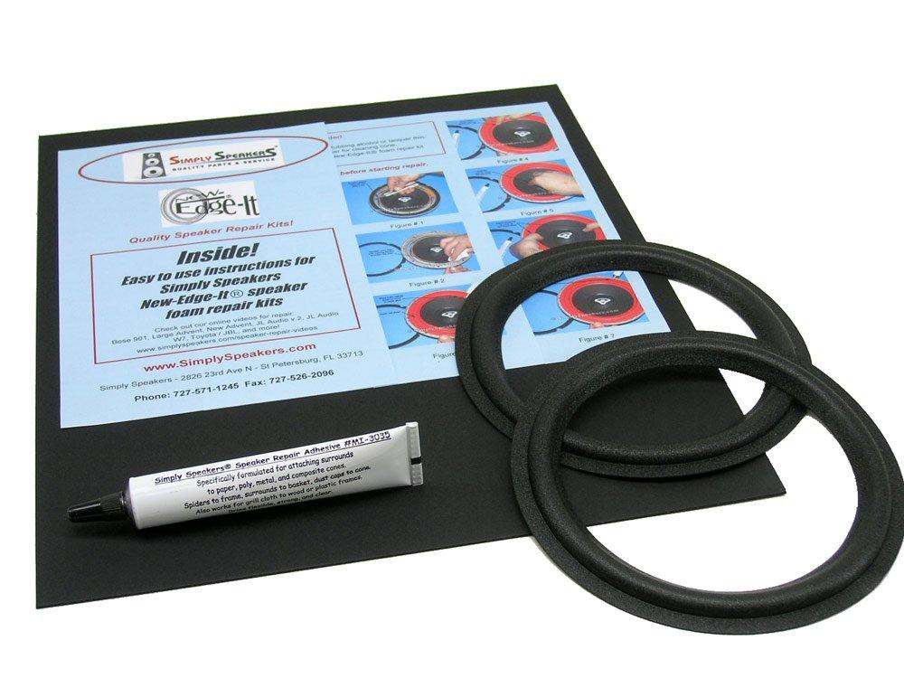 Boston Acoustics Speaker Foam Edge Repair Kit, 6'' Filled Fillet Foam, A-40 Series II, HD-10, 360, FSK-628
