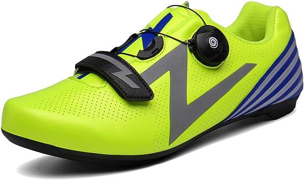 AEMUT Zapatillas de Ciclismo para Hombres, Zapatillas de Deporte ...