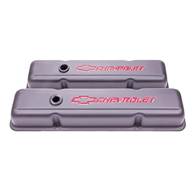 Proform 141-750 Heavy-Gauge Stamped Steel Short Stamped Valve Cover: Automotive