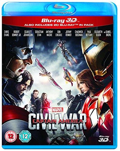 avengers civil war blu ray