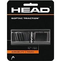 HEAD SofTac - Empuñadura de Repuesto para Raqueta de Tenis (Mango de Raqueta), Color Negro