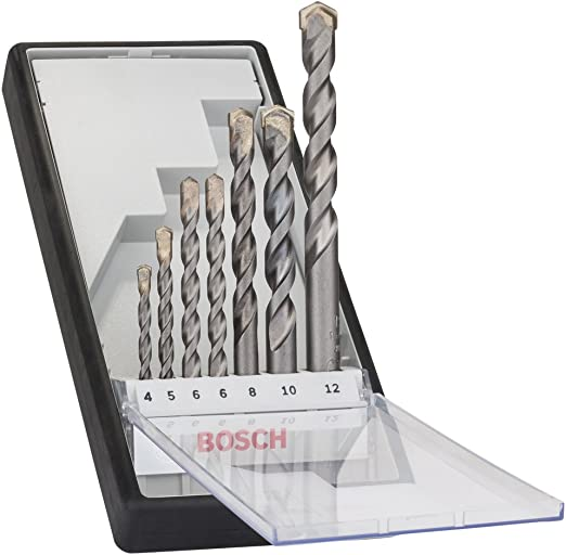 BEST 2607010543 Robust Line CYL 9 Multi Purpose Drill Bit Silver Set Of 7 Piece