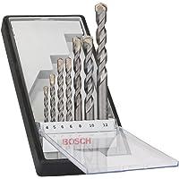 Bosch 2607010545-000, Jogo Robust Line de Silver Percussion, Cinza