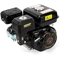 OUKANING Motor de Gasolina de 7.5 HP Motor de Kart Motor de 4 Tiempos Cilindro Simple Inclinado de 25 ° para Bombas y Embarcaciones 3600 RPM 5.1 KW (Black)