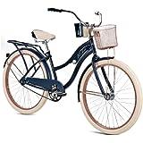 "Huffy 26"" Women's Nel Lusso Cruiser Bike, Blue"
