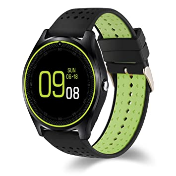 Smart Watch, Hinmay V9 Bluetooth Smartwatch Pantalla Táctil ...