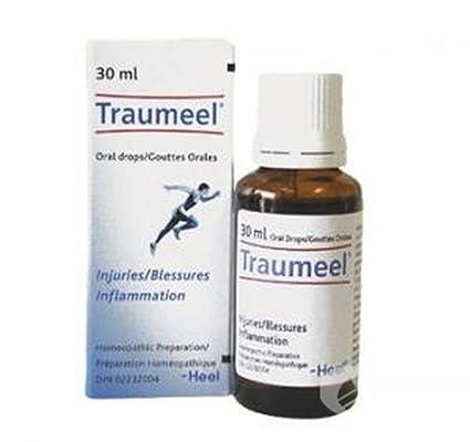 Traumeel - Analgésico homeopático, antiinflamatorio, para el alivio del dolor (gotas de uso