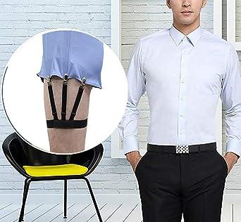 JELINDA – Sujeción de camisa para hombre, elástica, con cierre antideslizante H032-k-no2 Talla única: Amazon.es: Ropa y accesorios