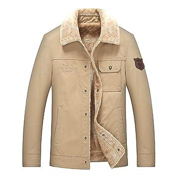 Amazon.com: Jiayit - Chaqueta de invierno para hombre, talla ...