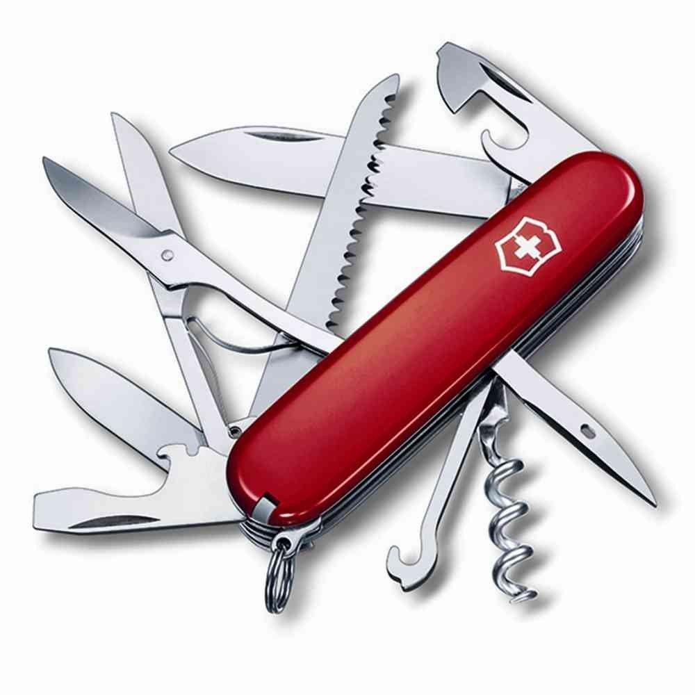 Victorinox - Couteau Suisse de Poche Victorinox Huntshomme 1.3713 - 15 Fonctions