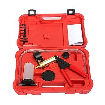 Manual Profesional de Diseño de Bomba de Vacío del Coche Freno de Aceite Probador Set Durable Líquido de Frenos Bleeder Cambio de Aceite Pistola de Vacío ...
